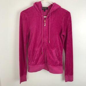 Juicy Couture Pink Terry Hoodie